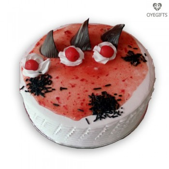1kg Strawberry cake delivery online