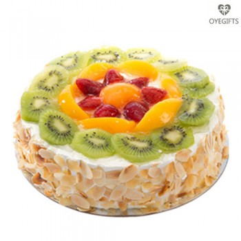 Fresh Fruit Cake 1Kg