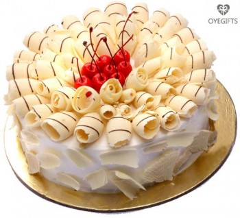 White Forest Special Cake